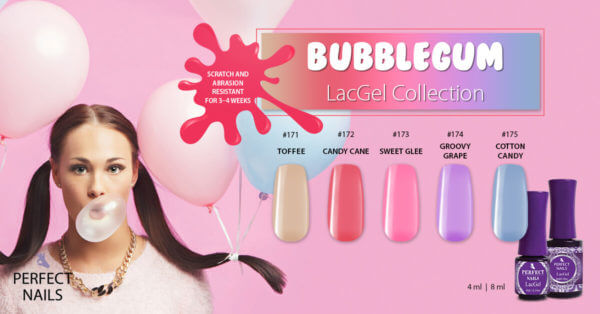 Bubblegum LacGel Collection