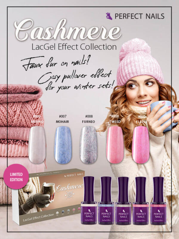 Cashmere Effect LacGel Collection