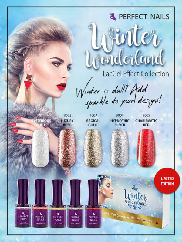 Winter Wunderland Effect LacGel Collection