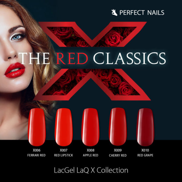 The Red Classic LaQ X LacGel Collection